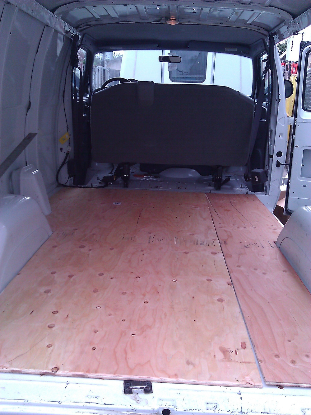 cargo van plywood flooring
