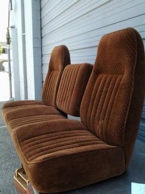 brown universal seat truck bench seats
