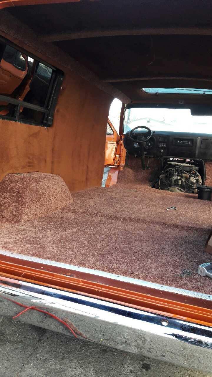 custom van conversion interior