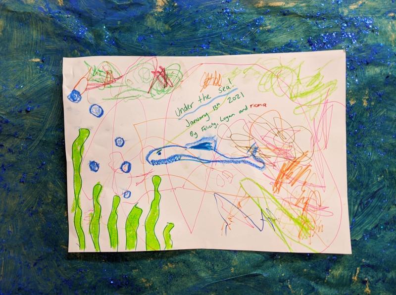 January 2021 Art 'Under The Sea'