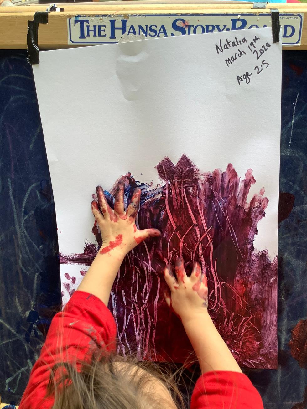 Natalia Red scratch Painting4.jpg