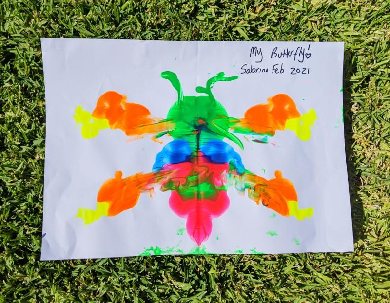 Butterfly - Sabrina Feb 2021