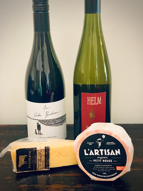 WINE & CHEESE PACK - SMALL