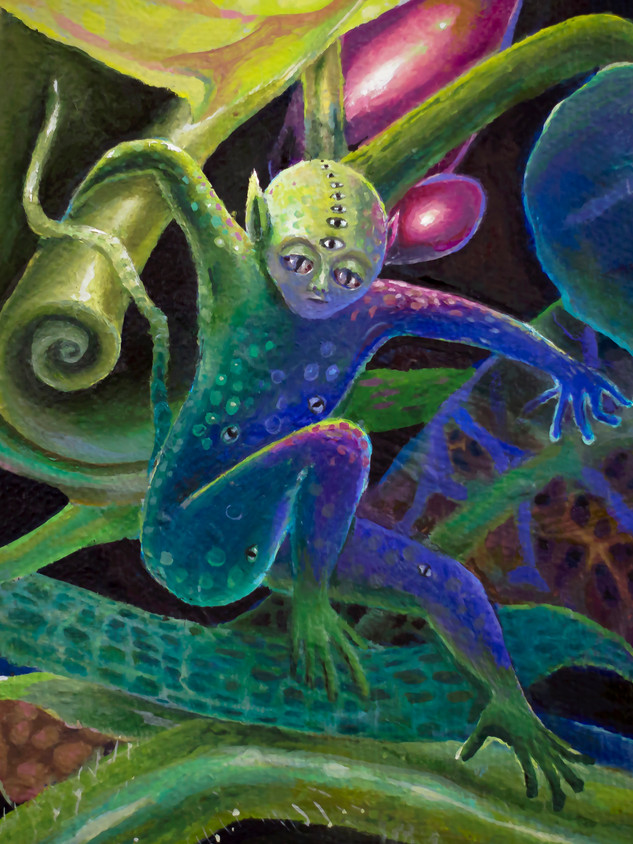 """""""Chameleon"""" Detail"""