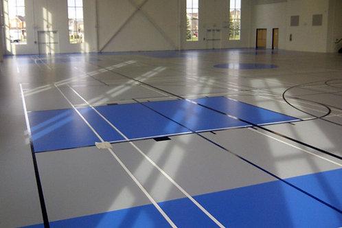 Полиуретановые наливные покрытия для спортивных залов