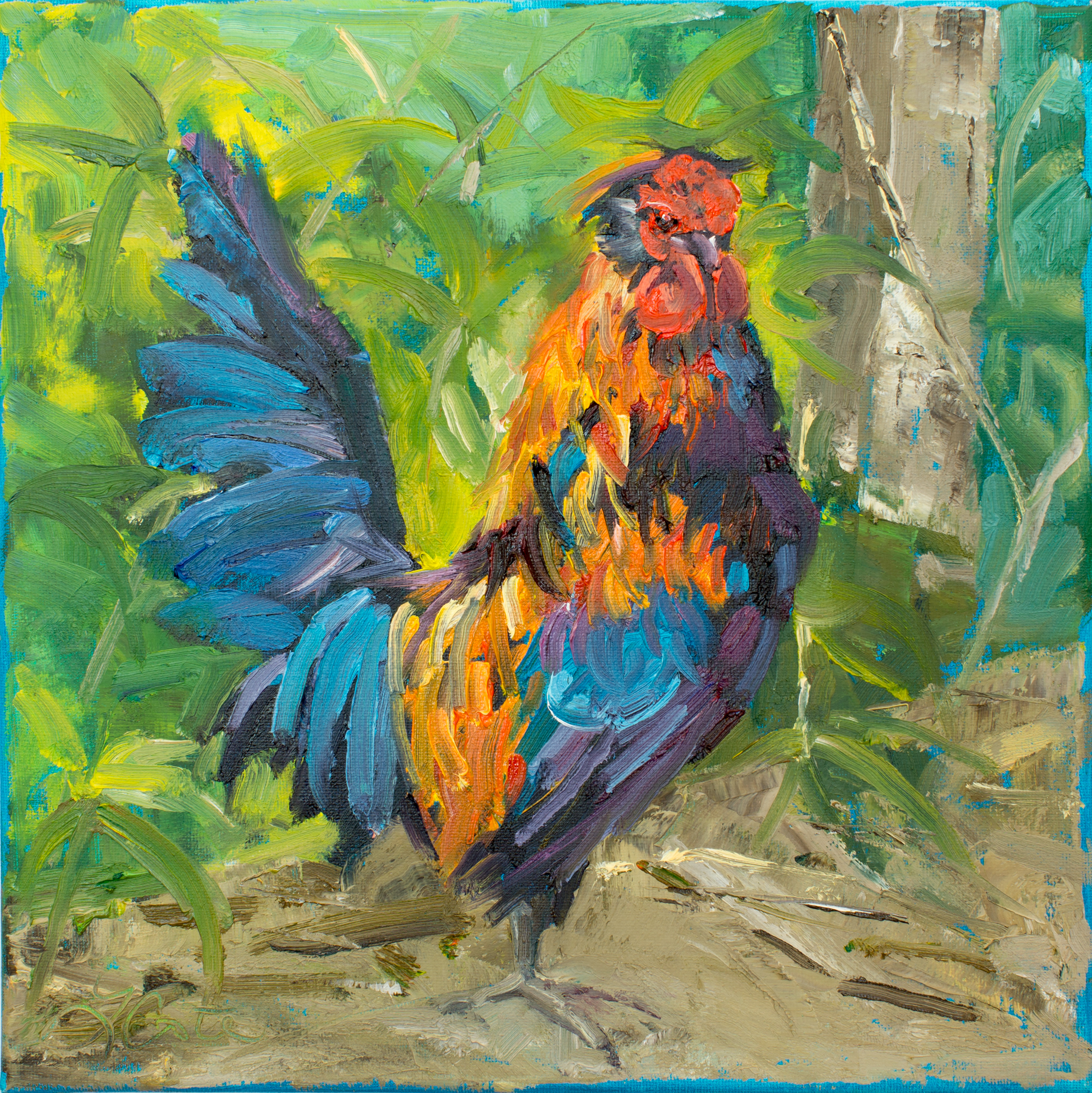 Local Rooster 12x12
