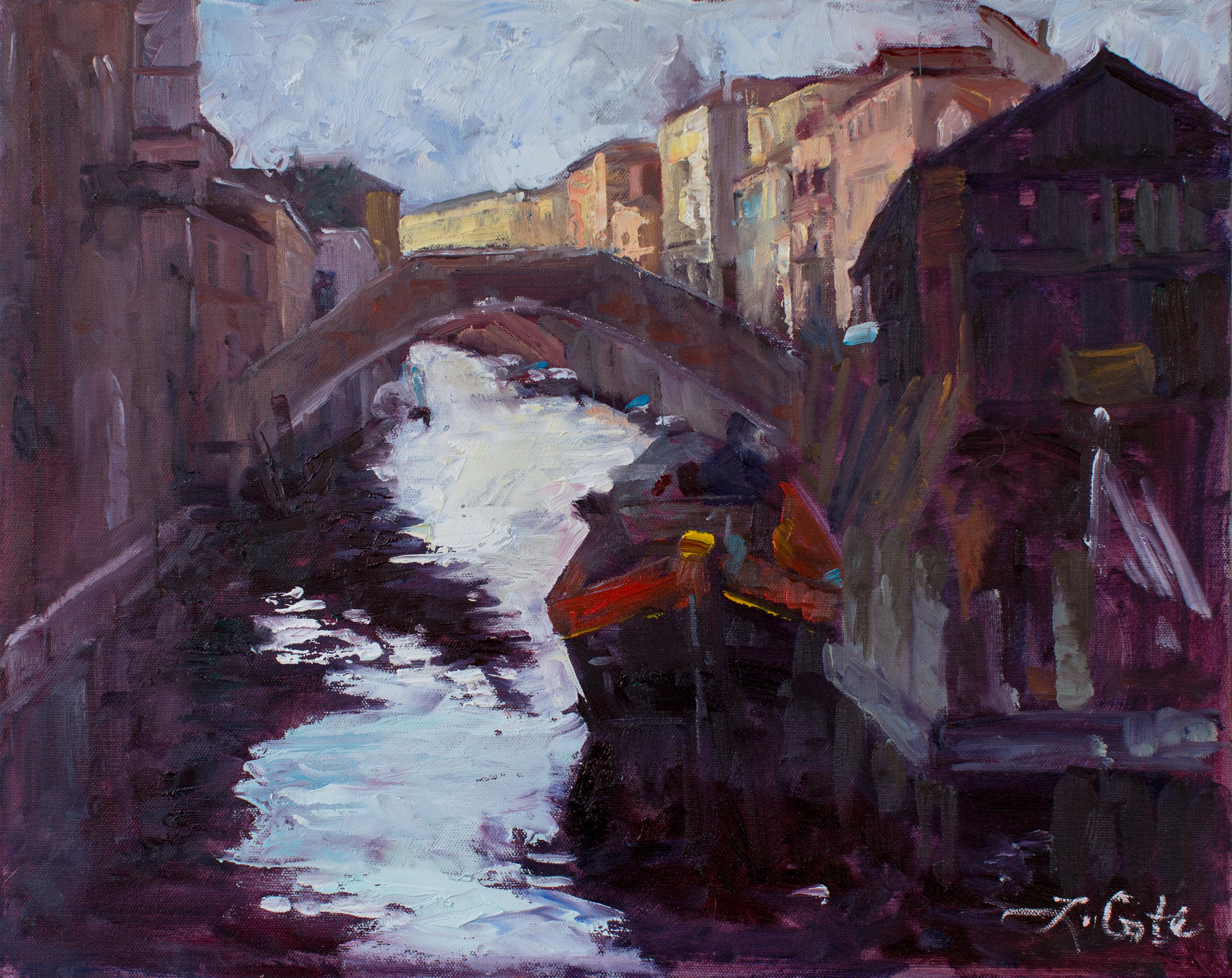 Venice Shadows 16x20