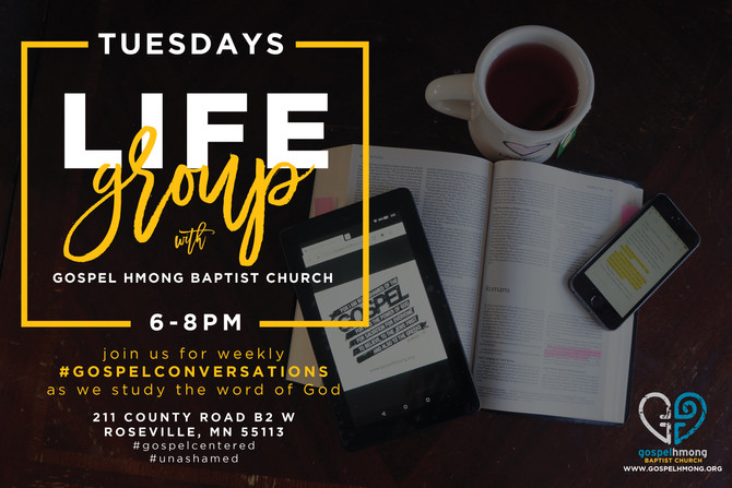 Join us for Lifegroup!