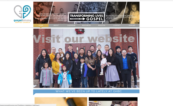 Visit Gospel Hmong online