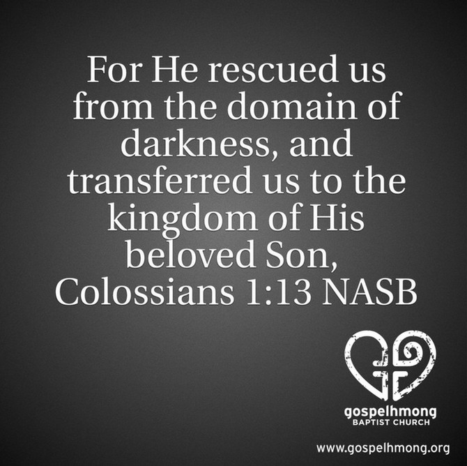 Colossians 1:13