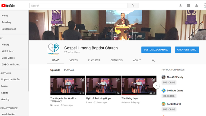 Subscribe to our YouTube!