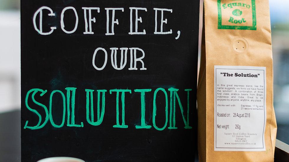 "Espresso Blend ""The Solution"" per 250g"