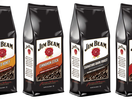 TAKE THE EDGE OFF YOUR MORNING WITH JIM BEAM BOURBON COFFEE!