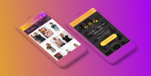 Bartr app branding and UX UI by hello