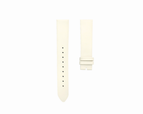 Cream White strap