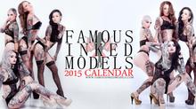 Famous Inked Models 2015 Calendar!