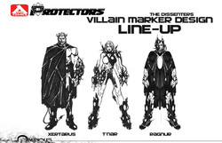 Dissenters_RoughDesigns_LineUp_150DPI