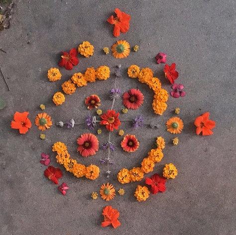 Nature Mandalas by Ruth Gallardo