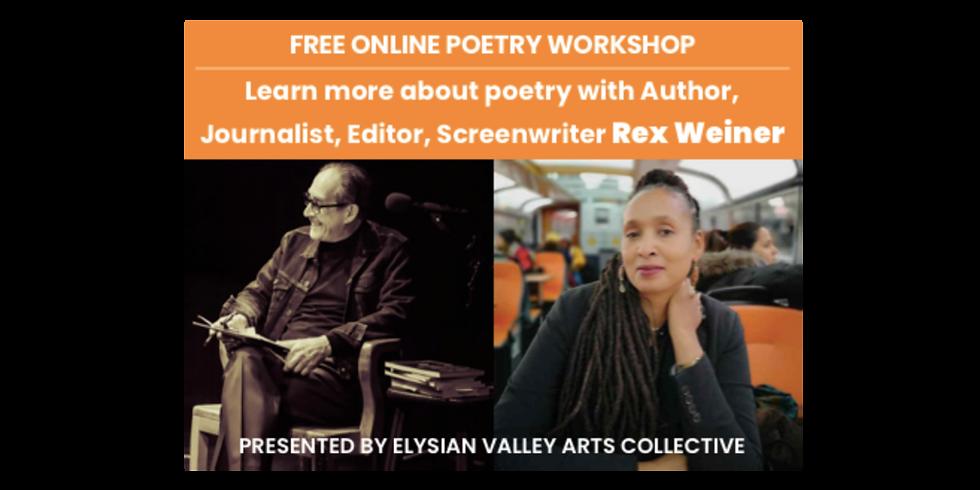 Poetry Workshop with guest Shonda Buchanan