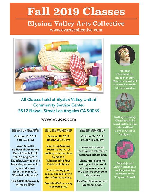 2019 EVAC Fall Classes FINAL Flyer_small