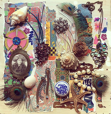 Collage by Michelene Cherie