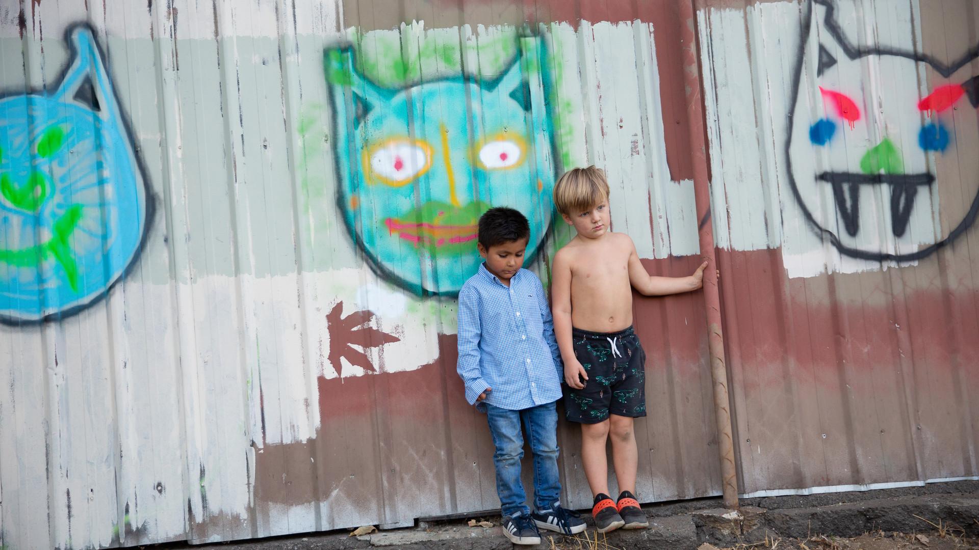 Leo Cats and kids.jpg