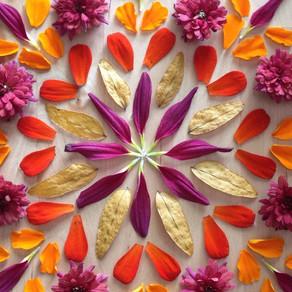Create a Nature Mandala