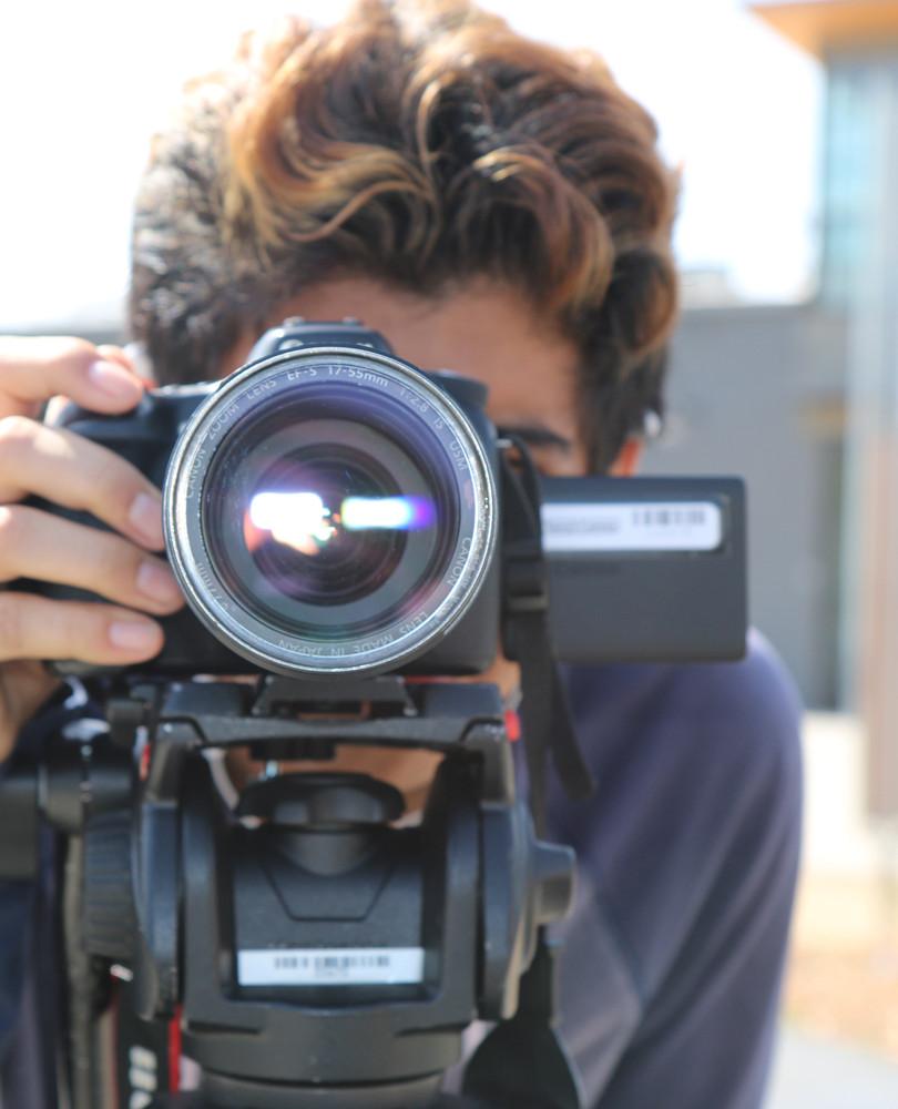 Student filmaker EVAC