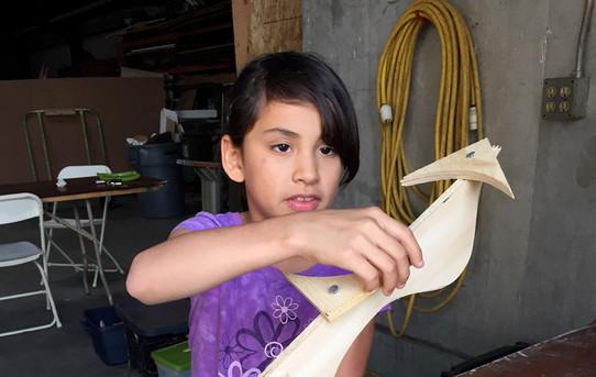 EVAC 2015 Woodworking class