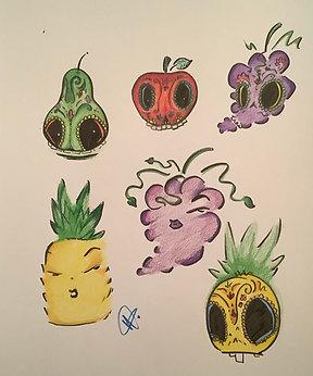Food As Art by Wendy Gonzalez