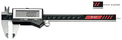 Pied à coulisse digital étanche IP67 - B  Mesure