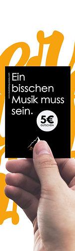 Ticket-Gutschein im Wert von 5 Euro