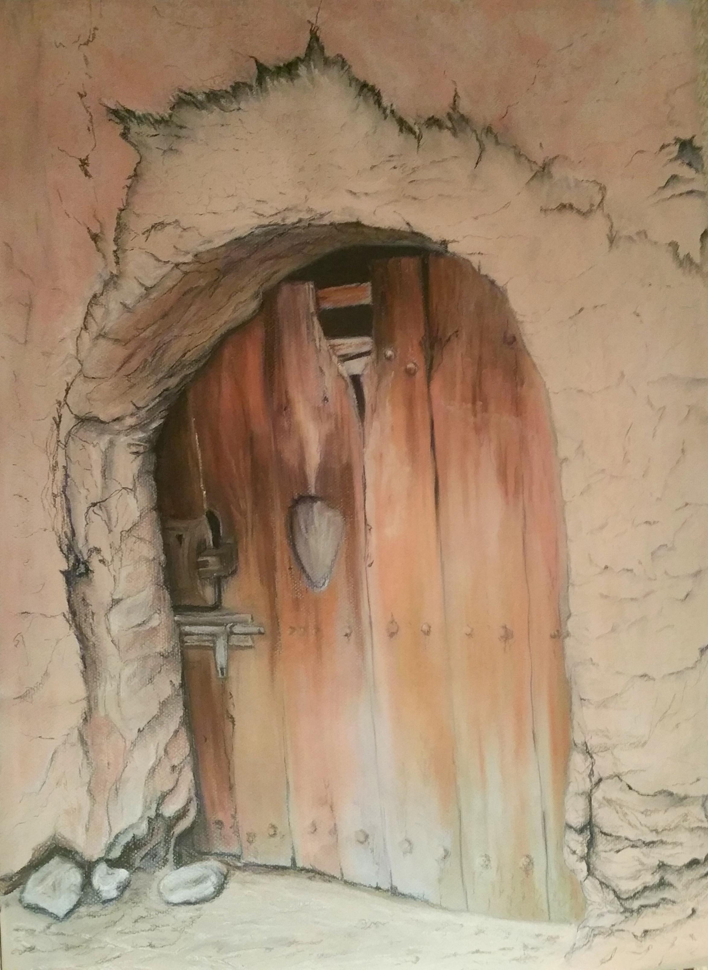 Bounou kasbah Door