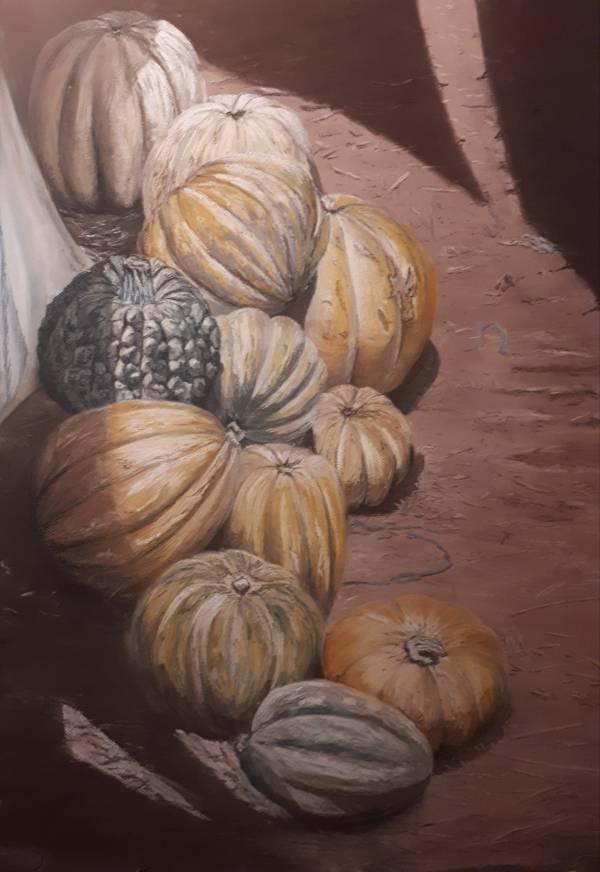 Pumpkins at the Souk