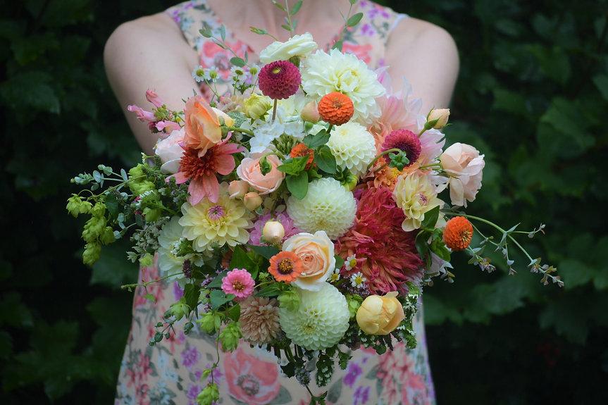 Brautstrauß Herbst giftfreie Blumen aus Bremen