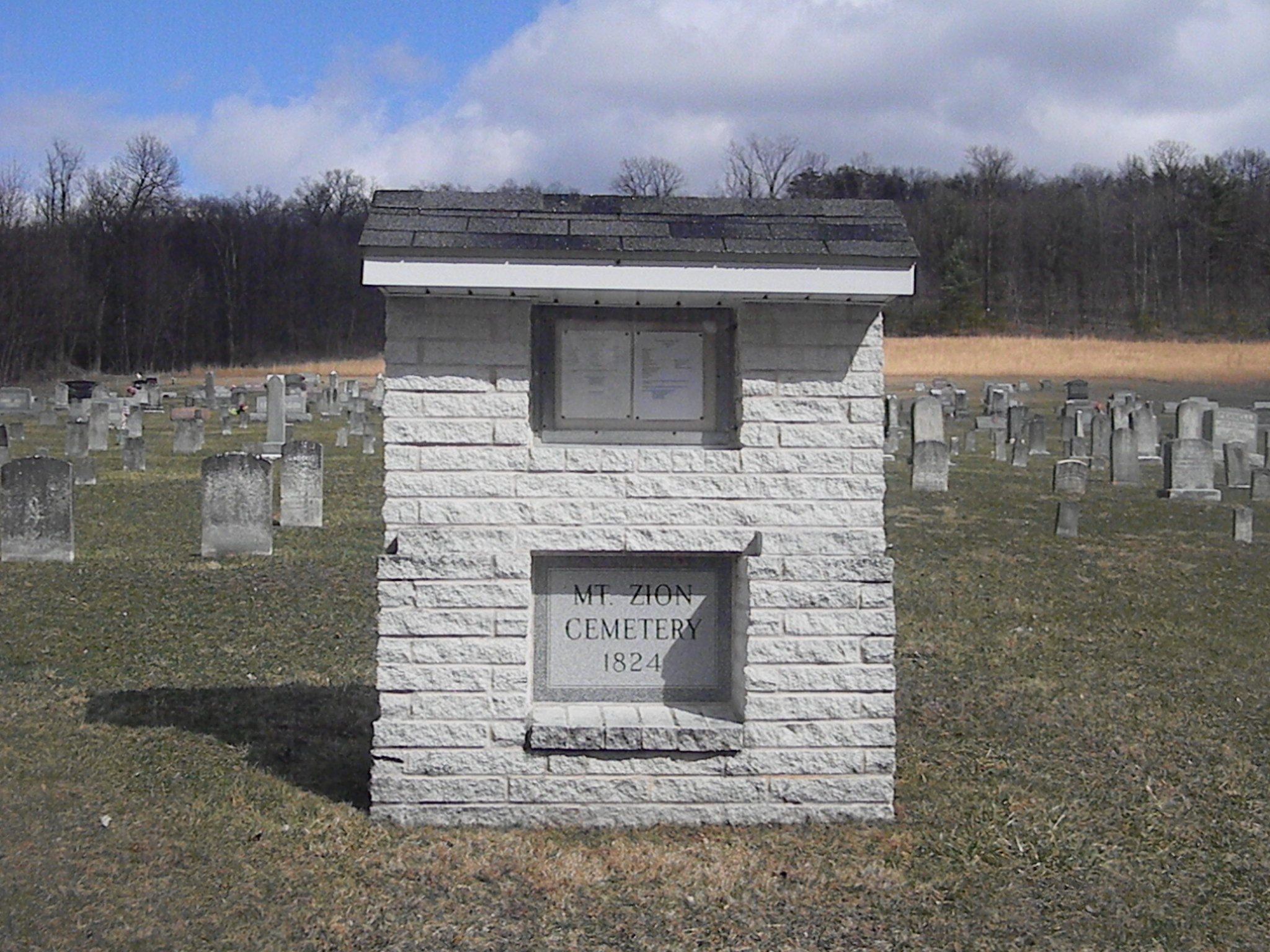 Mount Zion Church and Cemetery