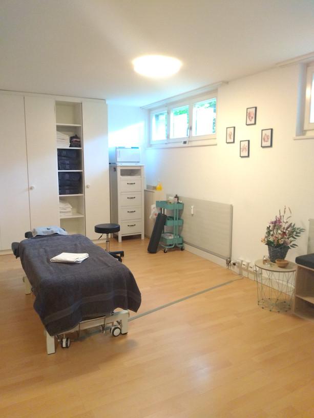 Praxisraum Klassische Massage in Riehen