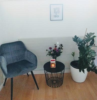 Wartebereich Massage in Riehen