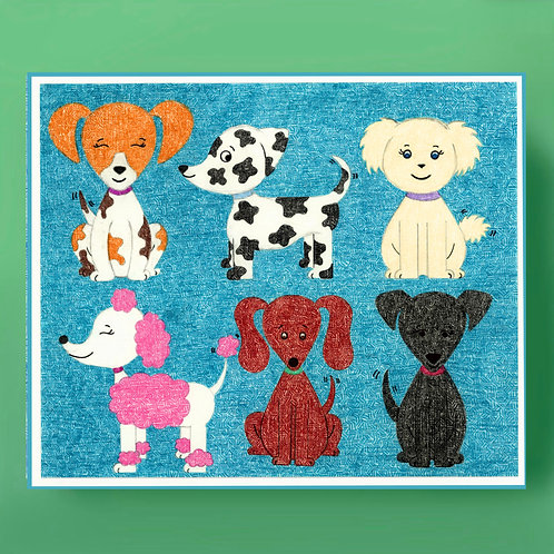Dogs on Dogs Card