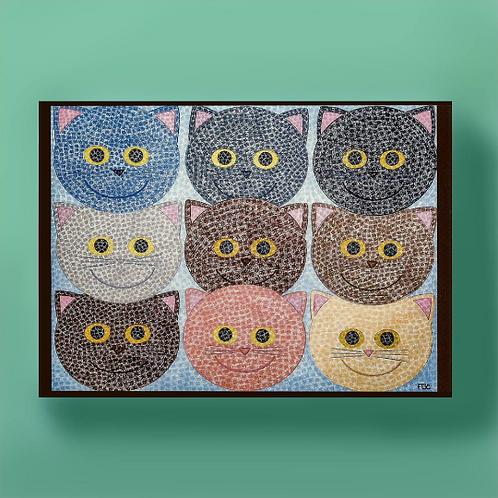 Cat Stack Card