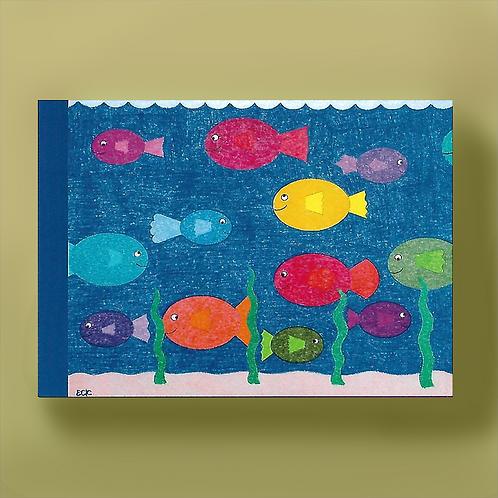 Colorful Aquarium Card