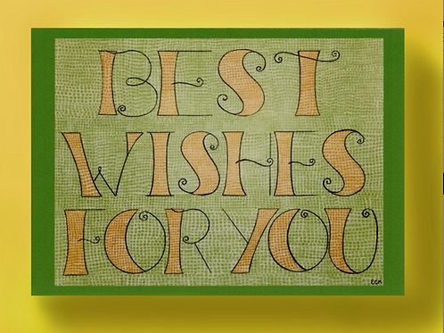 Best Wishes For You Card