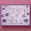 Thumbnail: Thinking Of You Purple Flowers Card