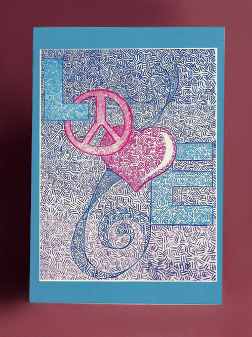 Love and Peace Card