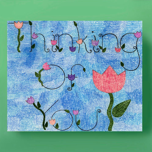 Thinking of You Floral Card