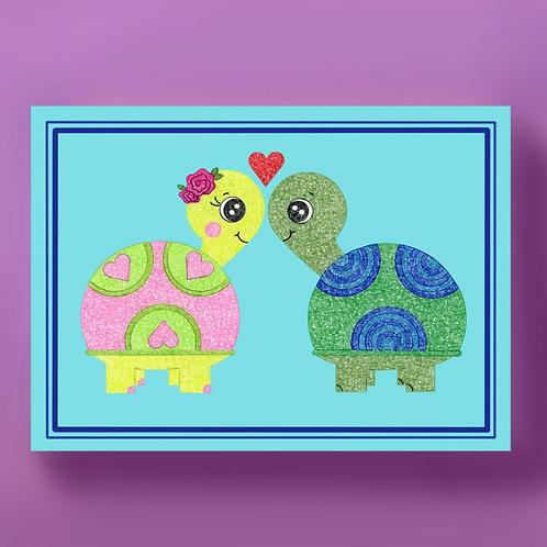 Love Turtles Card