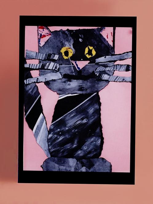 Black Cat Bombay Card