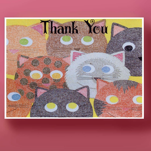 Burmese Cats Thank You
