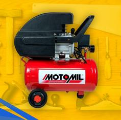Motocompressor de Ar 8,7 pés³/min 2,0HP 50 Litros 220V - MOTOMIL-37896.2