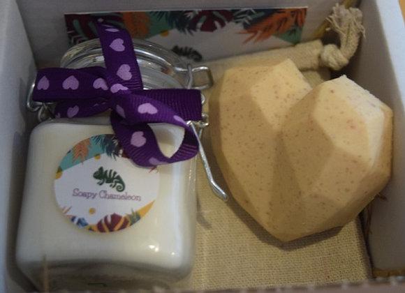 Valentine Candle & Soap Set
